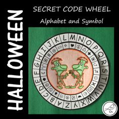 Let your students become a & Agent& or a & for the day with this fun Halloween resource. They will thank you for such a cool lesson! Here& what you can do: Make a secret code wheel. Use the code wheel to decipher a secret text from a witch& spell book. Classroom Resources, Teacher Resources, Witch Spell Book, Secret Code, Teaching Materials, Best Teacher, Print Templates, Halloween Fun, Spy