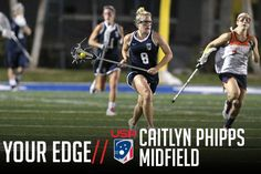 Your Edge: Scrambling Off the Draw With Caitlyn Phipps - Lacrosse Magazine