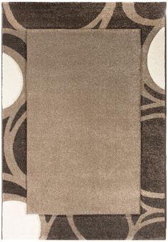 Florida 940 Brown Teppich Carpet Modern Grau Beige Braun Weiss Style Einfach