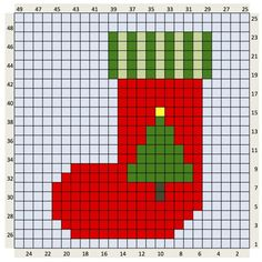 Seasonal Archives - Page 2 of 2 - The Crafty Co Christmas Stocking Pattern, Cross Stitch Christmas Ornaments, Xmas Cross Stitch, Christmas Embroidery, Christmas Knitting, Christmas Cross, Cross Stitch Charts, Cross Stitching, Cross Stitch Embroidery
