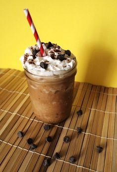 Vegan Frappé  - coffee  - 8 ice cubes  - 1/4 cup almond, rice, or soy milk    Optional: sweetener of choice, flavored syrup, vegan whipped cream, chocolate chips    Place the coffee, ice cubes, and vegan milk in a blender and blend until creamy. Pour into glasses and add optional flavorings and garnishes. Serve immediately.