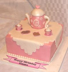 tea party cake | Tea Party Cake — Children's Birthday Cakes