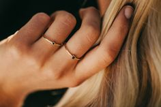 From uncompromising minimalism to bold and more expressive shapes, these are rings to revel in. Black Diamond, Diamond Rings, Cute Jewelry, Jewelry Accessories, Golden Necklace, Luxury Jewelry, Passion For Fashion, Vintage Outfits, Bling