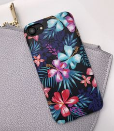 Lilac Kiss Florals for iPhone 7 & iPhone 7 Plus from Elemental Cases