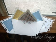 Punched Envelope Flaps tutorial, Carla's Scraps (3)