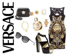 """VERSACE LOOK"" by gisipisi on Polyvore"
