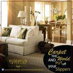 Carpet the world and put off your slippers  Product: Carpet http://www.humayuninteriors.com/carpets/ Call us +021-34964523 , 34821297 , 34991085 Shop no: CA-5,6,7 hassan center, University Road Gulshan-e-Iqbal Karachi Pakistan  #Banquets_carpets #Commercial_carpets #Office_carpets #Berber_carpets #Loop_carpets #Highpile_carpets #Masjid_carpets #Contemporary_rugs #Area_rugs #Centerpieces #Abstract_modern_rugs #Marquee #Shadihallmarquee #Vinyl #Woodenfloorng #Jaeynamaz…