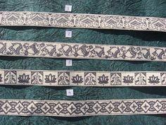 Items similar to madhubani painting scrap booking handmade paper strips / ribbons on Etsy Madhubani Art, Madhubani Painting, Hand Embroidery, Embroidery Designs, Saree Painting, Board Decoration, Paper Strips, Kurta Designs, Border Design
