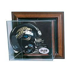 New York Jets NFL Case-Up Full Size Helmet Display Case