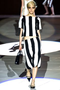 Marc Jacobs en New York Fashion Week 2012: Back to the sixties on http://negrowhite.net