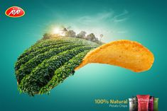 Billboard Design for Maz Maz Potato chips. Banks Advertising, Visual Advertising, Creative Advertising, Advertising Poster, Advertising Design, Ads Creative, Creative Posters, Food Graphic Design, Graphic Design Inspiration