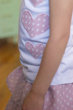 Another great tutorial for making ruffled skirts with a matching shirt too.