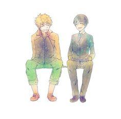 Kaneki & Hide