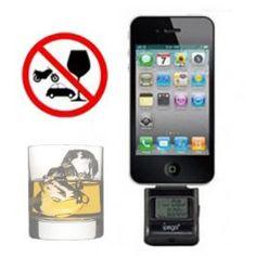 Alcoholímetro para iPhone, iPad, iPod