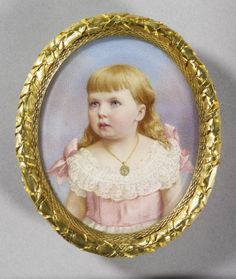 Sandra as a child