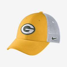 99c2104326d Nike Legacy Vapor Mesh Back (NFL Packers) Fitted Hat