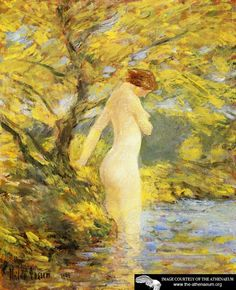 Nymph Bathing  Frederick Childe Hassam