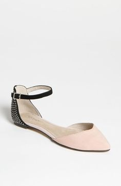 Spring & all. Aww. -MH  Topshop 'Marnie 2' Colorblocked Flat | Nordstrom