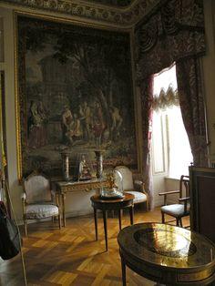Grand Palais - Intérieur - Pavlovsk - Bureau aux Tapisseries - Décoré par Vincenzo Brenna entre 1790 et 1793.