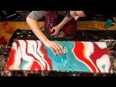 """Acrylic Painting Tips and Techniques video by Tim Gagnon, """"Acrylic paint drying to fast to blend?"""" - YouTube"""