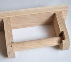 wooden toilet roll holder - Google Search