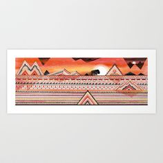 Journey Art Print by Sandra Dieckmann - $18.00