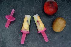 Sucettes glacées méli-mélo Kiwi, Fruit, Mango, Vegan, Food, Ice Pops, Manga, Meal, The Fruit