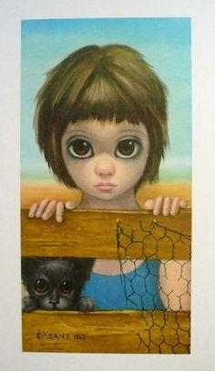 """""""Watching"""" ~ Margaret Keane, 1962"""