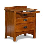 Trend Manor nightstand The sliding drawer is a nice element.