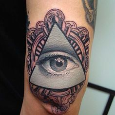 Awesome Eye of Providence Tattoo