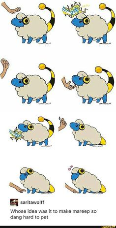 Petting Mareep became a lot harder - Funny Pokemon - Funny Pokemon meme - - Petting Mareep became a lot harder The post Petting Mareep became a lot harder appeared first on Gag Dad. Pokemon Comics, Pokemon Memes, Guzma Pokemon, Pokemon Funny, Pokemon Fan Art, Pokemon Fusion, Pokemon Cards, Pikachu, Photo Pokémon
