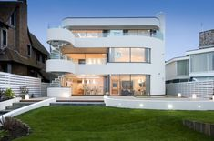 The ultra-modern four-storey, five bedroom mansion is situated next door to football manager Harry Redknapp's house on the Sandbanks peninsula which stretches across the mouth of Poole Harbour in Dorset. It comes complete with an indoor swimming pool and has been put on the market for a staggering £6.9million