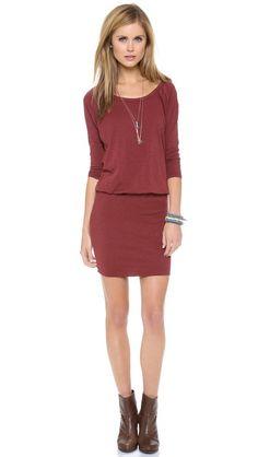 SUNDRY Raglan Dress via @Shopbop