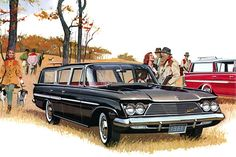 Plan59 :: Classic Station Wagons :: 1961 Rambler Ambassador Cross Country
