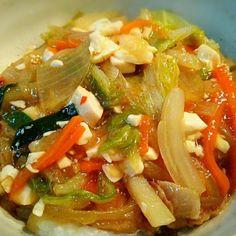 お昼のちゃちゃっとまかないです - 74件のもぐもぐ - 中華丼 by ichidolushi