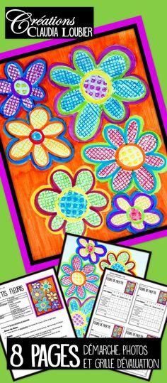 Mother's Day: Art Lesson Plan for Kids: Flower Rubbing, Spring - Kunstunterricht Kindergarten Art Lessons, Kindergarten Language Arts, Art Lessons For Kids, Art Lessons Elementary, Art For Kids, Lesson Plan Templates, Art Lesson Plans, Art Rubric, Wax Crayons