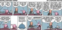 Pearls Before Swine Comic Strip, August 18, 2013 on GoComics.com