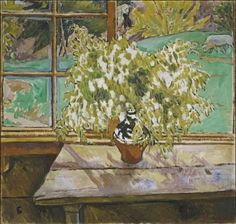 Mikhail(Fyodorovich)Larionov(Russian ,1881 – 1964)  Window.Tiraspol  1909  fromTretyakov Gallery collection