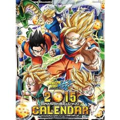 Dragon Ball KAI 2015 Calendar A2 Official toys TOEI JAPAN