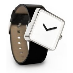 Day Slip Watch released by nonlinear studio. Like the skewed posture of the watch that make it looks like it is slipping off the band! Cool Watches, Watches For Men, Ladies Watches, Chanel, Watch Brands, Tech Accessories, Gold Watch, Mens Fashion, Stuff To Buy