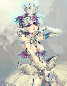Inspiring Illustrations by Dark134 Illustration Story, Digital Illustration, Girl Illustrations, Manga Watercolor, Zelda Twilight Princess, Game Art, Art Girl, Fantasy Art, Fantasy Women