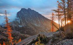 Stuart Range and The Enchantments Map, WA - MountainZone Yakima River, Snow Lake, The Enchantments, Small Lake, Alpine Lake, Best Rock, Winter Scenes, Rock Climbing, Wilderness