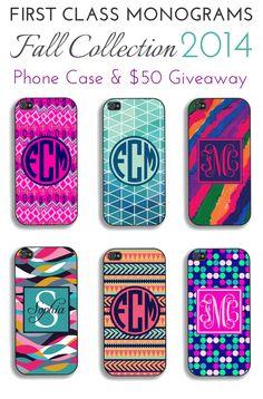 http://firstclassmonograms.com/monogram-phone-case-giveaway-fcmselfie-f2014/
