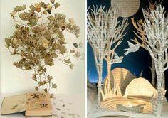 Paper art meets nature