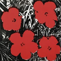 Flowers (Red), 1964 Poster