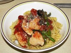 Blog post at Life With Lisa : Chicken Primavera Recipe This is a quick, easy, and heart healthy recipe for Chicken Primavera that I make a lot.  It's very flavorful and[..]