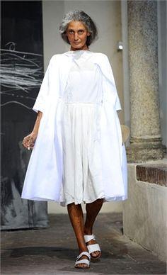 Benedetta Barzini 2011  sempre affascinante