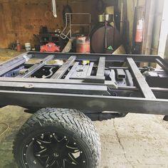 Custom Flatbed, Black Truck, Flat Bed, Ford Trucks, Monster Trucks, Homemade, Home Made, Ford, Hand Made