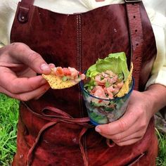 Ceviche på lax
