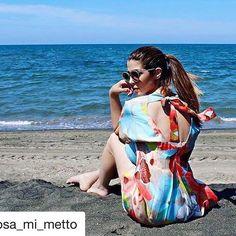 Look da mare per @cosa_mi_metto , ᵂᴼᴺᴰᴱᴿᶠᵁᴸ 📷💛 #Repost @cosa_mi_metto with @repostapp ・・・